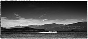 Mountains And Lake Prints - Having Fun on Priest Lake Print by David Patterson
