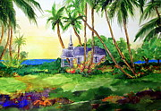 Pete Paintings - Hawaii - St. Petes by Cheryl Ehlers