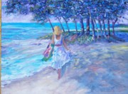 Aquas Prints - Hawaii Dreaming Print by Judy Groves