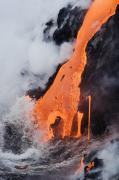 Frothy Posters - Hawaii Lava Poster by Ron Dahlquist - Printscapes