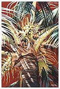 Coconut Paintings - Hawaiian Fireworks by Mike Hill