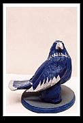 Mixed Ceramics - Hawk by Christopher Williams
