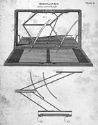 Copier Photo Prints - Hawkins Polygraph, 1803 Print by Granger