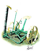 Hay Originals - Hay Cutter by Ferrel Cordle