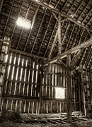 Old Wood Building Photos - Hay Loft by Scott Norris