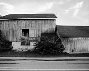 Hay Lofted Barn Print by Jan Faul