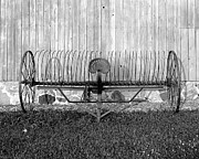 Danes Prints - Hay Rake Print by Jan Faul