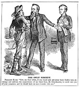 Hayes & White League, 1880 Print by Granger