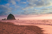 Haystack Rock Framed Prints - Haystack Rock Framed Print by Ariane Moshayedi