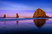 Oregon Art - Haystack Sunrise by Brian Bonham