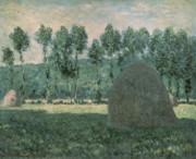 Claude Monet - Haystacks near Giverny
