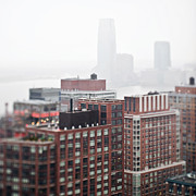 New York City Rooftop Photos - Hazy Cityscape by Eddy Joaquim