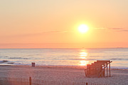 T-shirt Prints - HDR Beach Ocean Beaches Oceanview Scenic Sunrise Seaview Sea Photos Pictures Photo Print by Pictures HDR