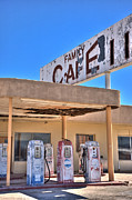 Property Digital Art Prints - HDR Family Cafe Print by Matthew Bamberg