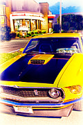 New Car Prints - HDR Muscle Car Mustang Cars Classic Cool Photo Pictures Retro Cool Art Pic for Sale Gallery Buy New  Print by Pictures HDR