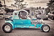 Hdr Photo Prints - HDR Photography Car Cars Hot Rod Vintage Black White Photo Picture Old Vintage Buy Sell Selling Art  Print by Pictures HDR