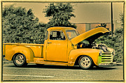 Buy Sell Photo Posters - HDR Pick Up Truck Old School Photo Pictures New Buy Sell Selling Photography Art Car Cars Vintage  Poster by Pictures HDR
