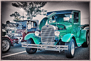 Buy Sell Photo Posters - HDR Pictures Pickup Truck Vintage Classic Photo  Photography Buy Sell Selling Hot Rod New Art Car  Poster by Pictures HDR