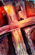 Christian Art Paintings - He Died for ME by Jun Jamosmos