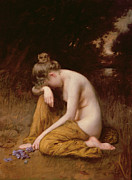 Sad Paintings - He Loves Me He Loves Me Not  by Robert Fowler