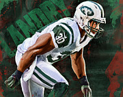 Ny Jets Posters - Head First High Velocity No Regrets Poster by Duane Tomaszewski