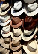 Straw Hats Photos - Head Stand by Joe Kozlowski