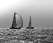Sparkling Prints - Heading home Solent Print by Gary Eason
