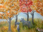 Fall Pastels - Heading South by BJ Abrams