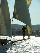 St.tropez Photos - Heading to Port by Lainie Wrightson