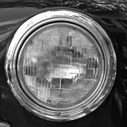 Car Culture Framed Prints - Headlight 1 Framed Print by Charlette Miller