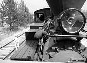 Ming Yeung - Headlight of steam train in Summerland BC Canada