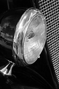 Carolyn Stagger Cokley Art - headlight205 BW by Carolyn Stagger Cokley