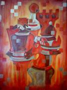 Chess Queen Originals - Heads of Chess by Shellton Tremble