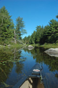 Down East Maine Prints - Headwaters Print by Robert Anschutz