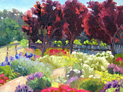 Sonoma County Vineyards. Originals - Healdsburg Garden by Deborah Cushman
