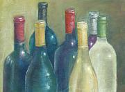 Wine Country Originals - Healdsburg Skyline Two by Ellen Minter
