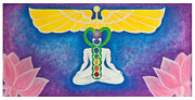 Chakra Paintings - Healed and Whole by Shooting Star