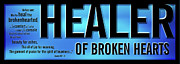 Jesus Digital Art - Healer of Broken Hearts by Shevon Johnson
