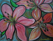 Special Occasion Paintings - Healing Flowers by Pristine Cartera Turkus