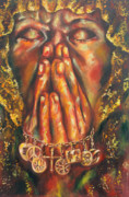 Prayer Painting Originals - Healing by Grady Zeeman