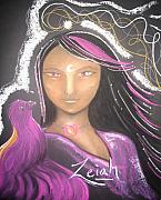 Growth Pastels - Healing guide Zeiah by Lee-Anne Peters