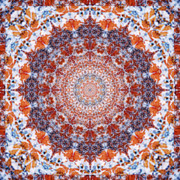 Meditative Photos - Healing Mandala 2 by Bell And Todd