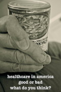 Nurses Posters - Healthcare in America ... Poster by Gwyn Newcombe
