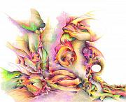 Colorful Drawings - Hear me by Bodhi