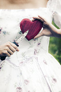 Lover Photos - Heart And Knife by Joana Kruse
