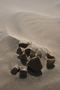 Sand Dunes Prints - Heart Broken Print by Chris Brannen