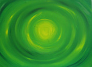 Heart Chakra Paintings - Heart Chakra by Gina Hampton