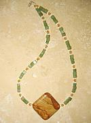 Gemstones Jewelry Jewelry - Heart Chakra Necklace by Treasure-Tob E
