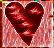 Best Digital Art Originals - Heart  by Kevin  Sherf