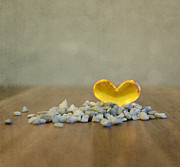 Still Life Photo Prints - Heart of Glass Print by Kristin Kreet